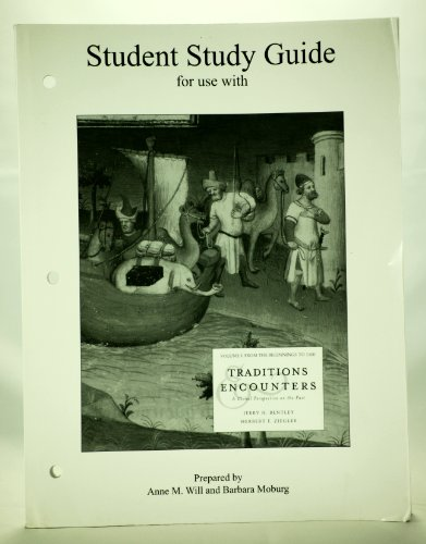 9780072565836: Student Study Guide and Map Exercise Workbook to accompany Traditions and Encounters, Volume 1