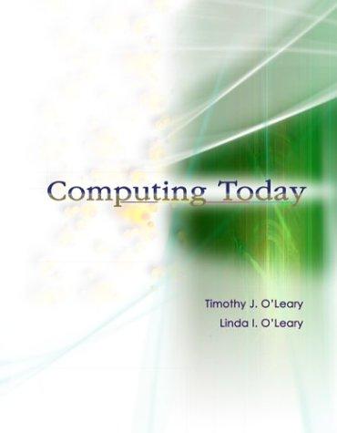 9780072565980: Computing Today