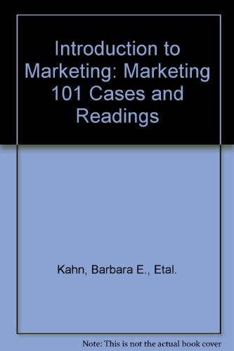 9780072682007: Introduction to Marketing: Marketing 101 Cases and Readings