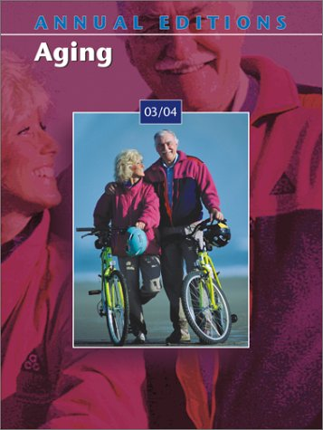 9780072816952: Aging 03/04 (Annual Editions : Aging, 15th ed)