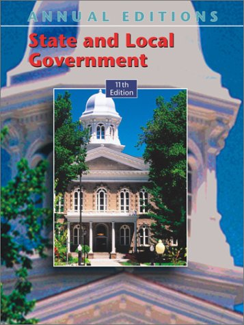 9780072816976: Annual Editions: State and Local Government 03/04