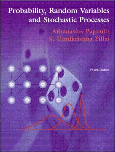 9780072817256: Probability Random Variables, and Stochastic Processes