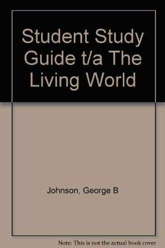 9780072817997: Student Study Guide t/a The Living World