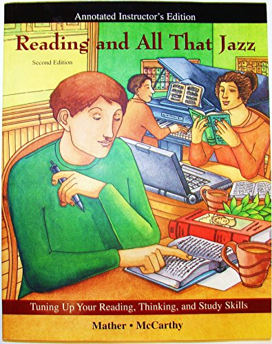 9780072818031: Reading and All That Jazz: Tuning Up Your Reading, Thinking, and Study Skills