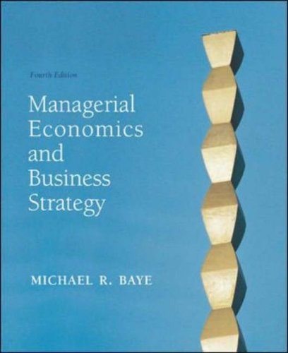 9780072818635: Managerial Economics and Business Strategy