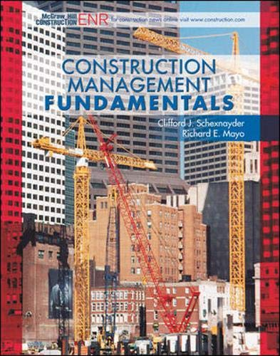 9780072818772: Construction Management Fundamentals (McGraw-Hill Civil Engineering)