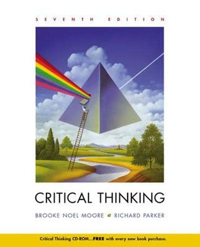 9780072818819: Critical Thinking