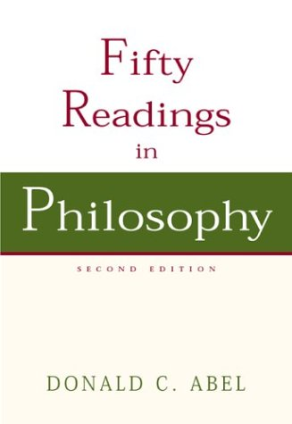 9780072818864: Fifty Readings in Philosophy