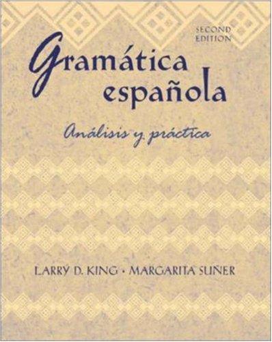9780072818871: Gramatica espanola: Analisis y practica