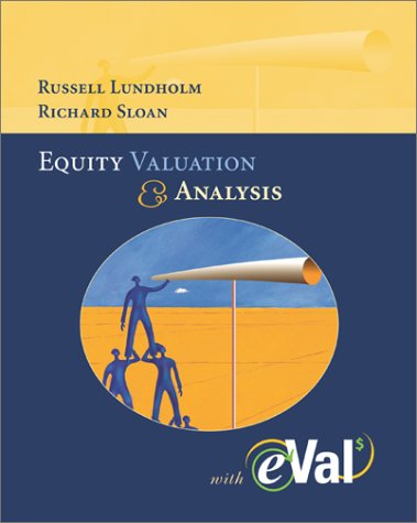 9780072819335: Equity Valuation and Analysis With Eval