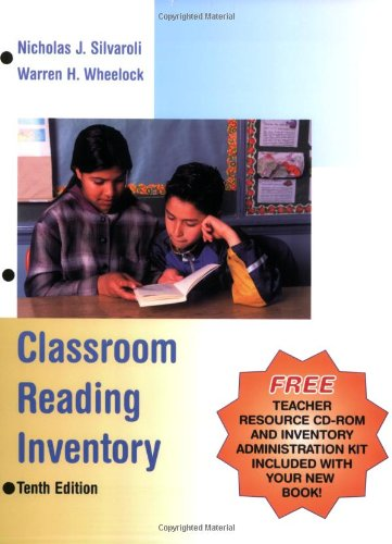 9780072819663: Classroom Reading Inventory