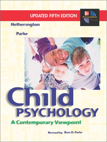 9780072820140: Child Psychology: A Contemporary Viewpoint
