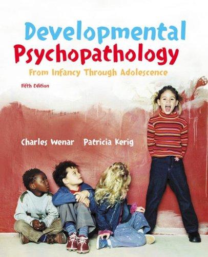 9780072820195: Developmental Psychopathology