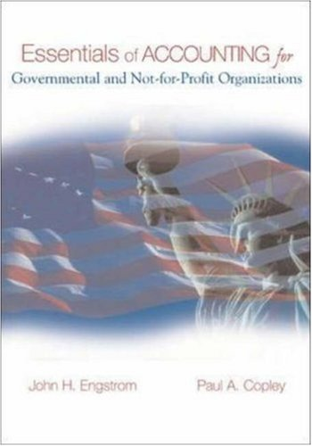 9780072820379: Essentials of Accounting for Governmental and Not-for-Profit Organizations