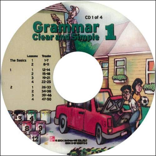 9780072820713: Grammar Clear and Simple - Book 1 (Beginning) - Audio CDs (4) (Bk. 1)