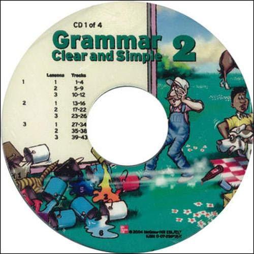 9780072820751: Grammar Clear and Simple - Book 2 (High Beginning) - Audio CDs (Bk. 2)