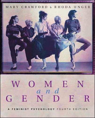 9780072821079: Women and Gender: A Feminist Psychology