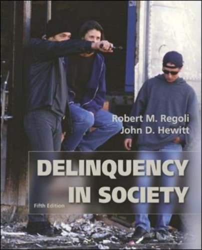 9780072821208: Delinquency in Society