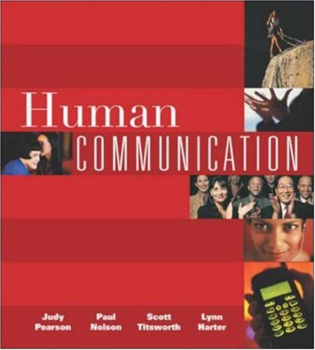 9780072821239: Human Communication with Free Student CD-ROM and PowerWeb