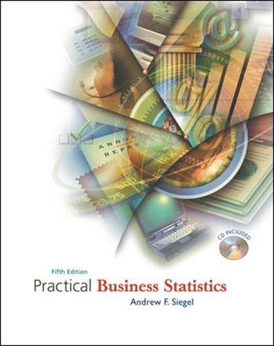 9780072821253: Practical Business Statistics with Student CD-ROM