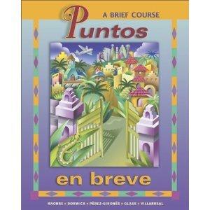 9780072821277: Puntos En Breve, a Brief Course