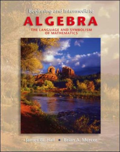 9780072822014: Beginning & Intermediate Algebra with OLC and SMART CD