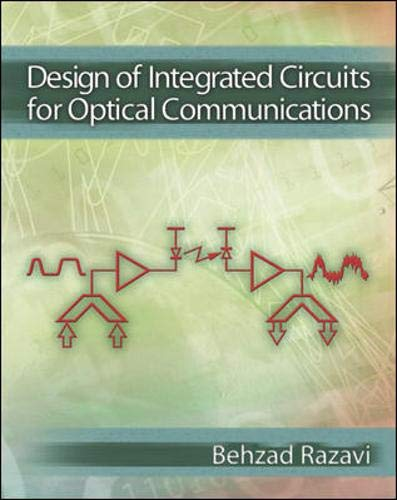 9780072822588: Design of Integrated Circuits for Optical Communications
