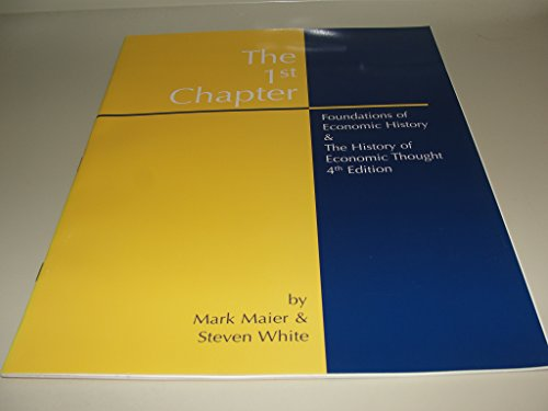 9780072822670: 1st Chapter: Foundations of Economics History [Unknown Binding]