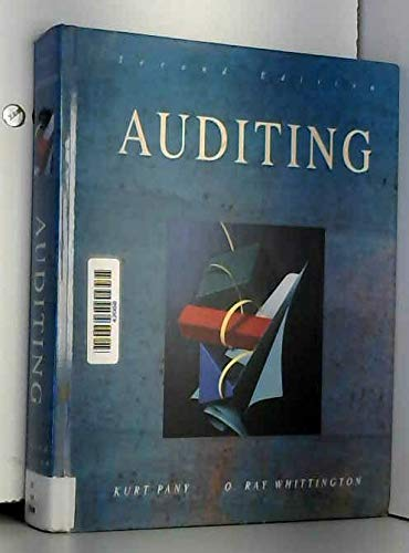 9780072822731: Principles of Auditing and Other Assurance Services