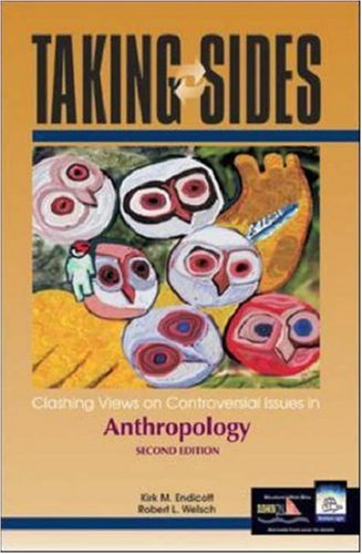 9780072822762: Taking Sides: Clashing Views on Controversial Issues in Anthropology