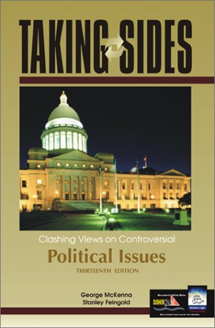 9780072822809: Taking Sides: Clashing Views on Controversial Political Issues