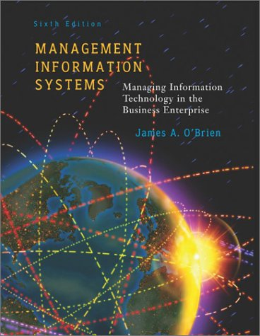 9780072823110: Management Information Systems: Managing Information Technology in the E-Business Enterprise
