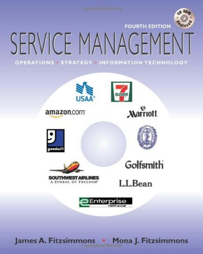 9780072823738: Service Management: Operations, Strategy, and Information Technology
