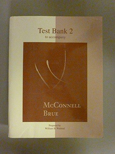 9780072823875: Testbank 2 Revised to Accompany Economics
