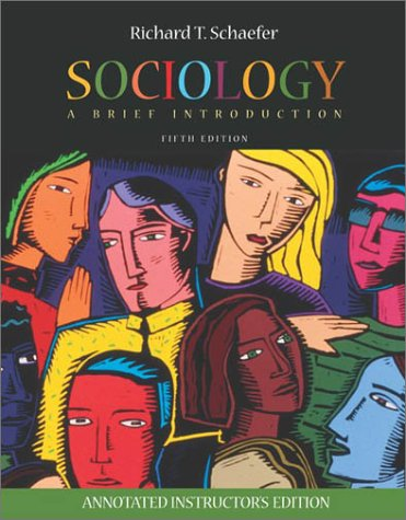 9780072824162: Sociology (Annotated Instructor's Edition)
