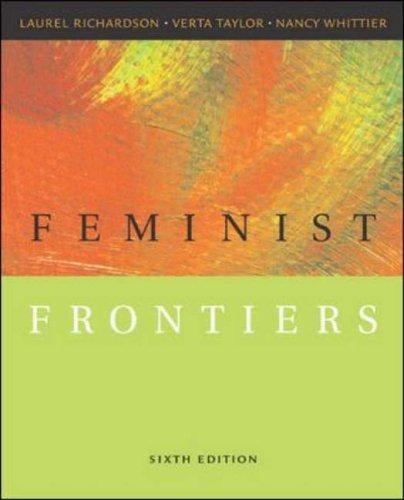 9780072824230: Feminist Frontiers