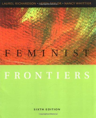 Feminist Frontiers: Laurel Richardson, Verta