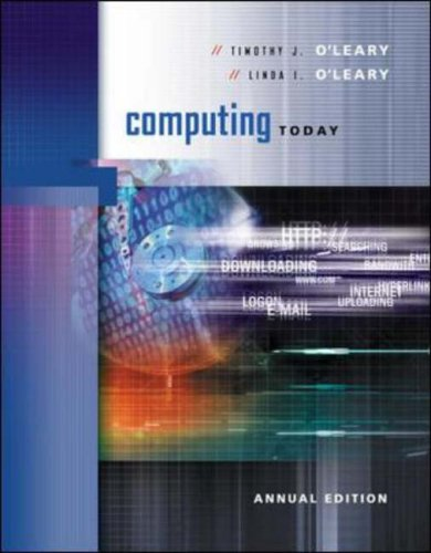 9780072824377: Computing Today