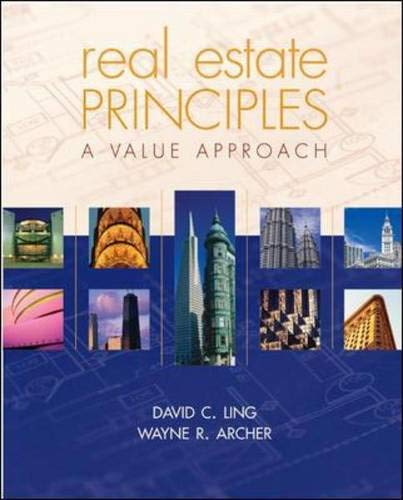 Real Estate Prinicples: A Value Approach
