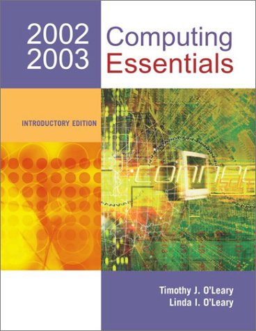 9780072825275: Computing Essentials 2002-03 Introductory w/ Interactive Companion 3.0