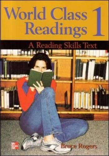 9780072825459: World Class Readings 1 Student Book: A Reading Skills Text (Bk. 1)