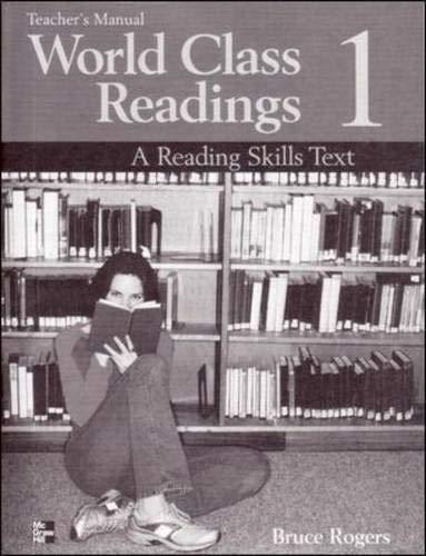 9780072825466: World Class Readings 1: High Beginning: A Reading Skills Text (Bk. 1)