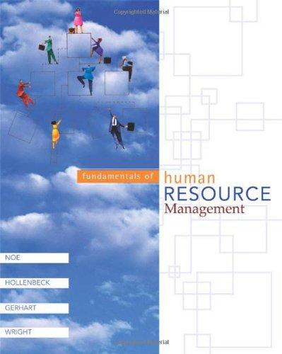 9780072825671: Fundamentals of Human Resource Management