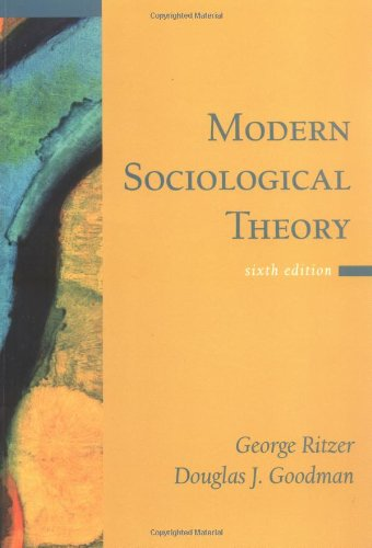 9780072825787: Modern Sociological Theory