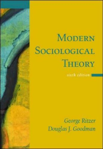 9780072825787: Modern Sociological Theory
