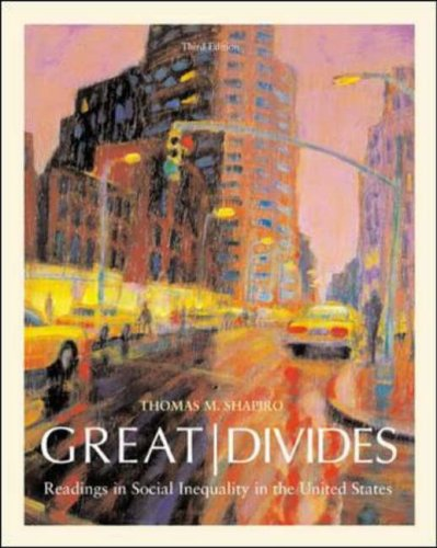 9780072825848: Great Divides: Readings in Social Inequality in the United States