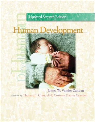 Human Development w/CD-ROM: James Wilfrid Vander