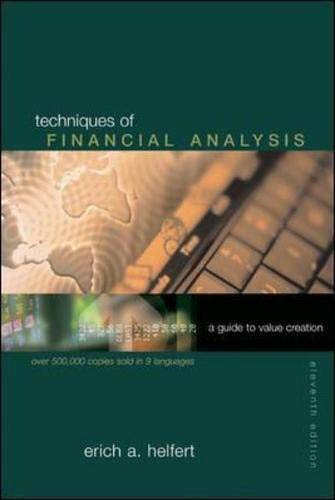 9780072826326: Techniques of Financial Analysis with Financial Genome Passcode Card (McGraw-Hill/Irwin Series in Finance, Insurance, and Real Est)