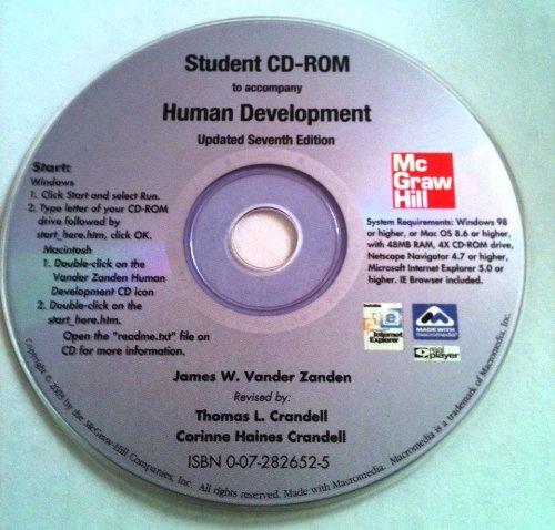 9780072826524: Interactive Student CD-ROM to Accompany Human Development
