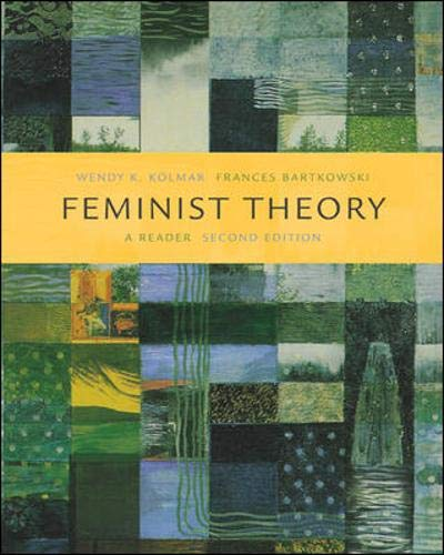 9780072826722: Feminist Theory: A Reader